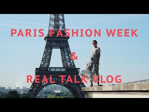 Paris Vlog - Haute Couture Fashion Week and Real Talk | Aimee Song