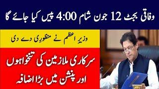 Budget 2020 pakistan salary increase latest news | Budget 2020-21 Pakistan Date Announced | 12 June