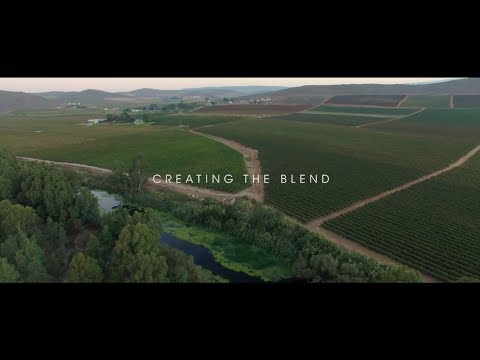 wine article Creating the Blend