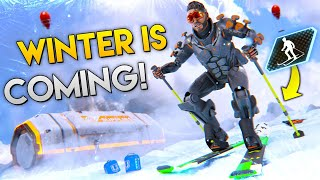 NEW Winter SKIS COMING Best Apex Legends Funny Moments and Gameplay Ep 189