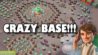 HOW DID WE BEAT THIS BASE! Cooker Is Insane!! | Boom Beach