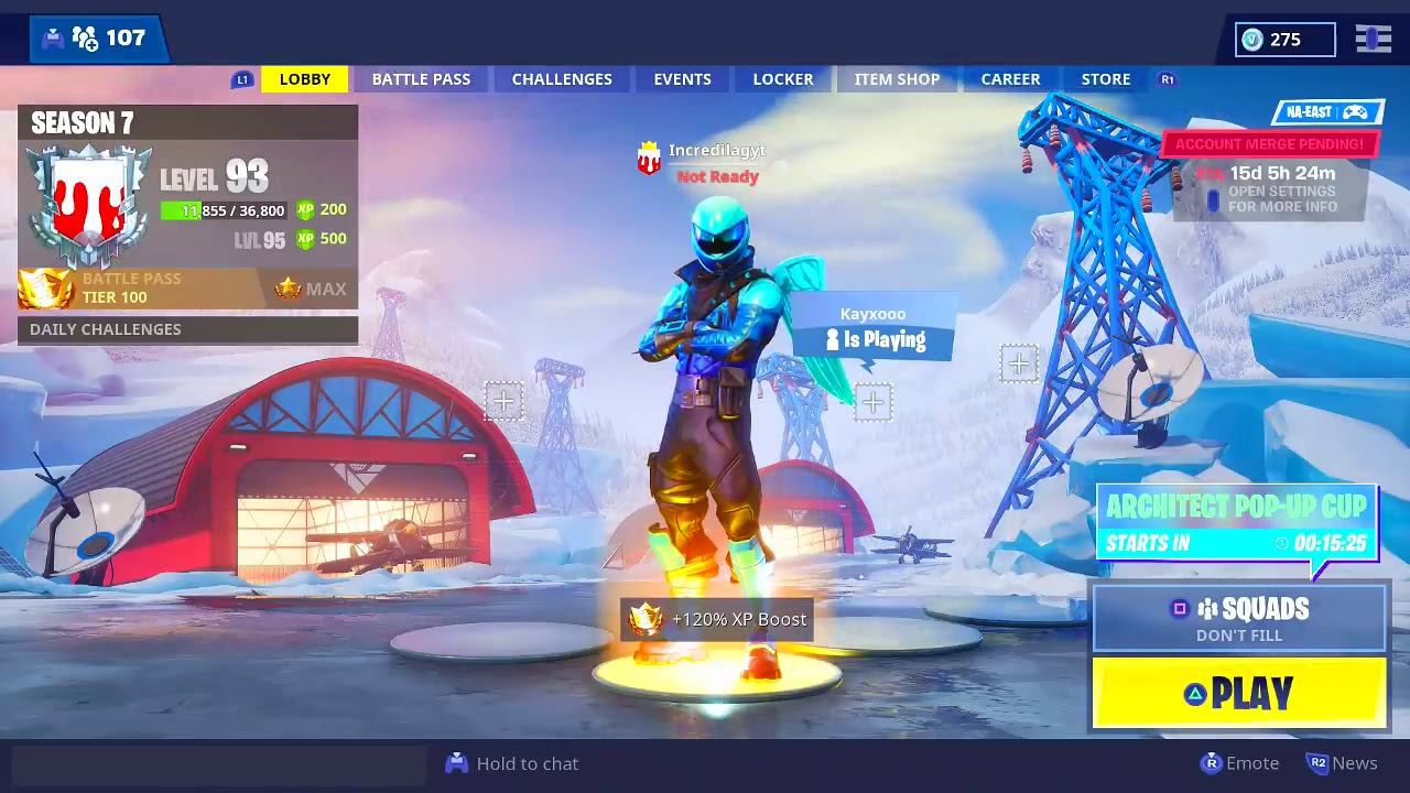 How To MERGE ACCOUNTS In Fortnite Right Now! New Fortnite ...