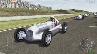 TOCA Race Driver 3 - Mercedes-Benz W25 (Motopark Oschersleben B) Gameplay 1080p