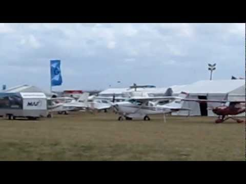 Avalon International Air Show Trade Show 2013 - F18 Launch