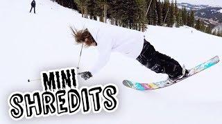 Two Skiers, One Challenge: Freeski Triathlon    Mini Shredits