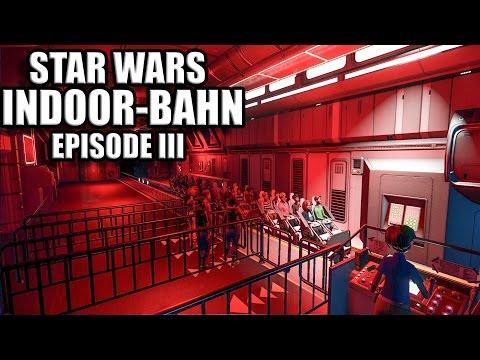 Planet Coaster Deutsch #35 - STAR WARS INDOOR BAHN EP 3 - Speedbuild German - Let's Play / Gameplay