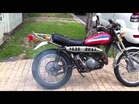 Suzuki TS 250 1974  YouTube