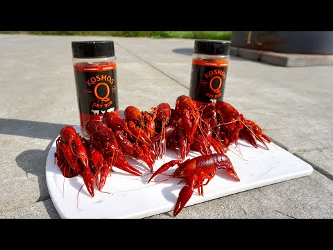 WILD Crawfish CATCH CLEAN COOK! (Crawfish Trapping)