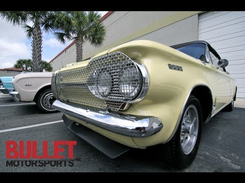 1964 Chevy Corvair Spyder Fitch Monza Sprint Test Drive in HD