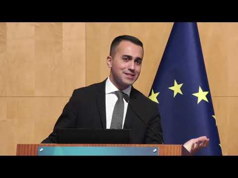 Luigi Di Maio presentazione alleati Unione Europea - 15/02/2019
