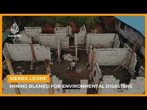 Sierra Leone: Illegal mining blamed for environmental disasters