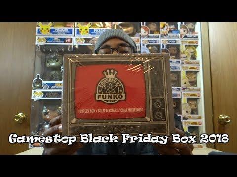 Gamestop Black Friday Cartoon Mystery Box 2018 Youtube