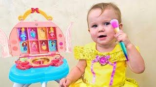Stefy pretend play Kids Make up toys & Dress Up