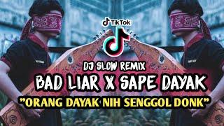 DJ SLOW BAD LIAR X SAPE DAYAK ( ORANG DAYAK NIH. SENGGOL DONK )