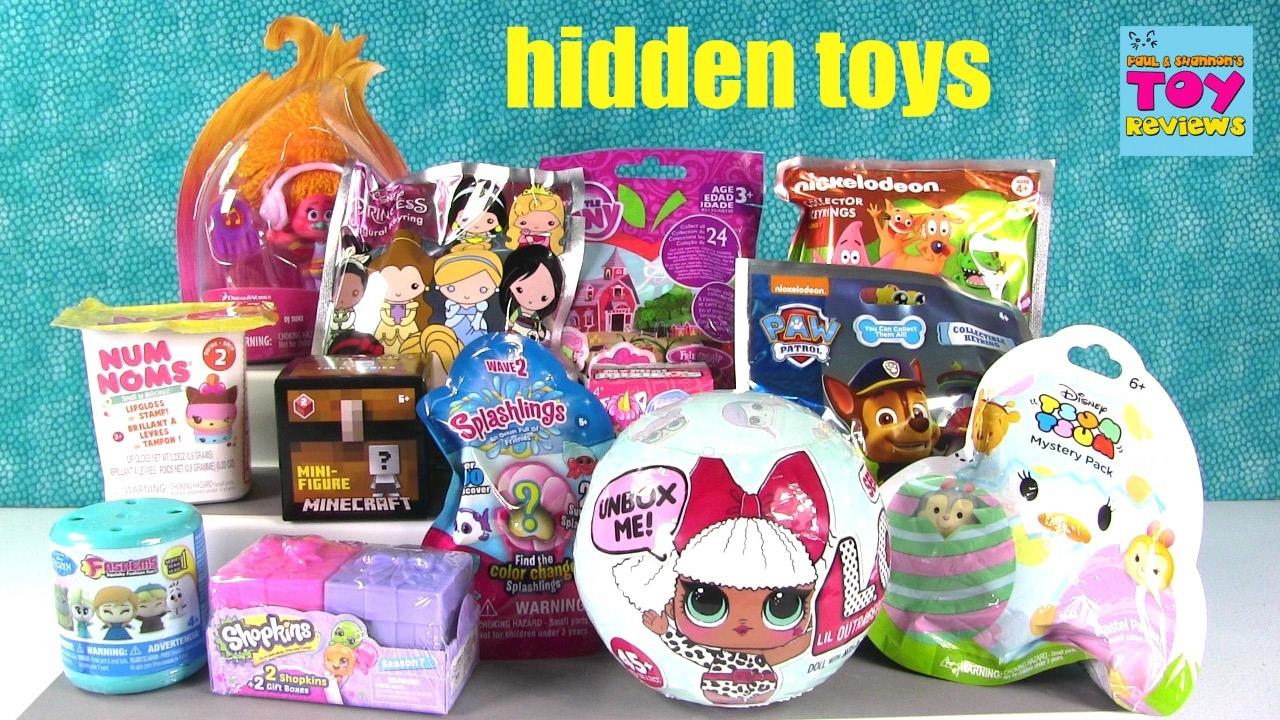 Disney LOL Surprise Doll Trolls MLP Shopkins Frozen Blind Bag Opening |  PSToyReviews - YouTube