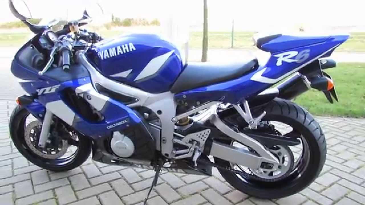 Yamaha Yzf-r6 2001 Walk Around