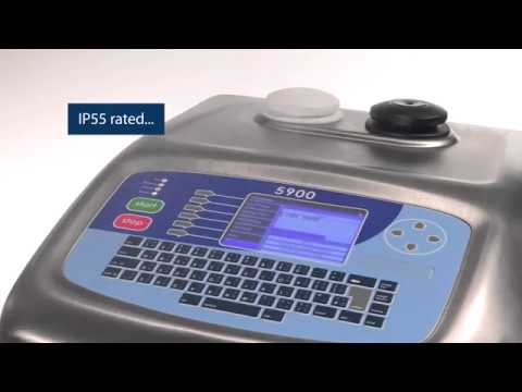 the linx 5900 continuous ink jet printer is designed to provide rh youtube com