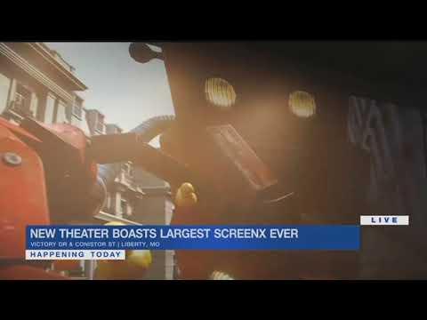 New Liberty B&B Theatre boasts largest ScreenX in the world