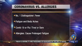 Doctor explains difference between COVID-19, seasonal allergies