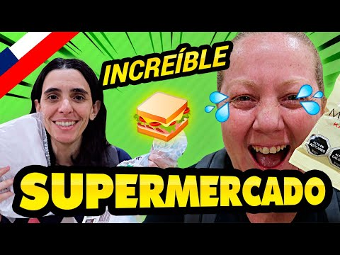 No lo podemos creer! MODO TURISTA en  SUPERMERCADO CHILENO | Hay de todo en Santiago de Chile