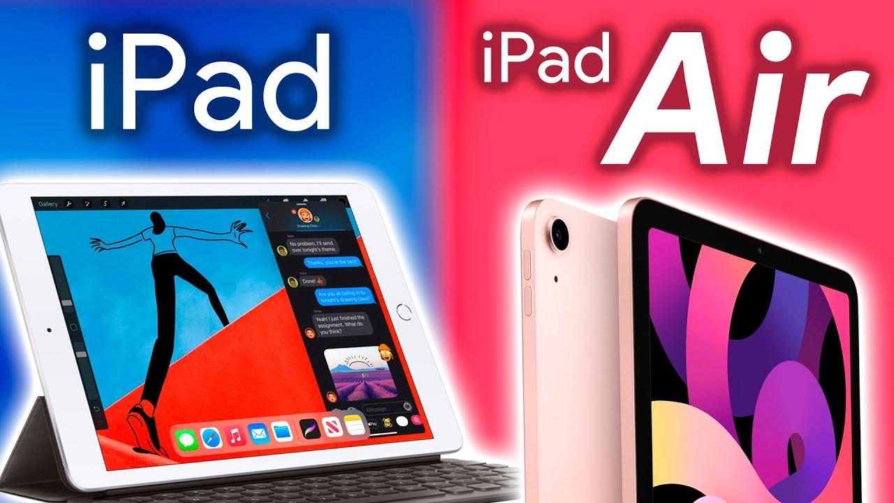 iPad Air 4 (2020) vs iPad 8 (2020), ¿cuál COMPRAR? - YouTube
