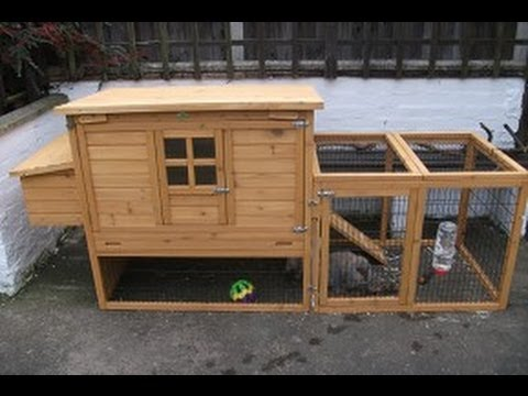 ebox l rabbit hutch / chicken coop and run - product review - youtube