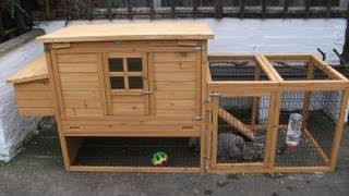 Ebox L Rabbit Hutch / Chicken Coop And Run - Product Review
