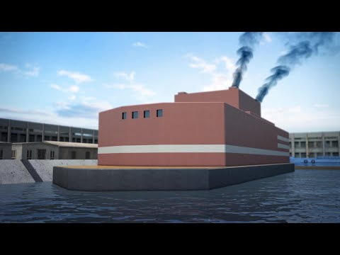 Russia's Floating Nuclear Power Plant Starts Generating Electricity