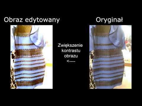 Czarno-niebieska czy złoto-biała ? Jaki kolor ma sukienka ?