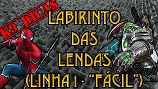K9 Dicas - Labirinto das lendas (LoL) - Linha 1  - Marvel Torneio de Campeões   Contest of Champions