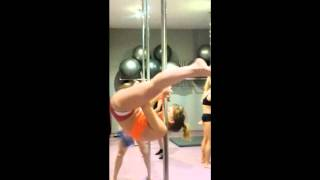 Pole Dance My First Shoulder Mount