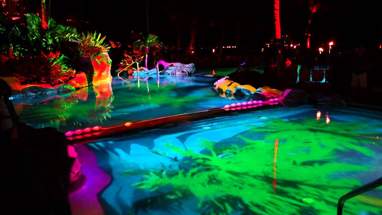 Helumoa the birth of hawaii early preview 3 d pool for Pool light show waikiki