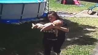 Download Texas Mom Performs CPR on Baby After He Climbed Ladder of Above Ground Pool Mp3 and Videos