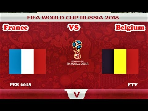 France vs Belgium | Full Match & All Goals 2018 | World Cup | PES 2018 Gameplay HD