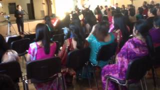 63 birthday celebration of queens gurkha signals