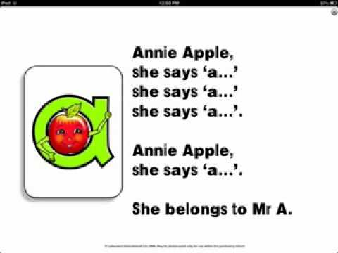 Annie Apple Letterland Full HD Song