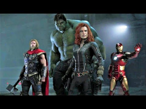 MARVEL'S AVENGERS GAMEPLAY TRAILER AND MORE - SQUARE ENIX E3 2019