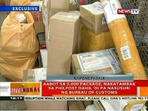 BT: Aabot sa 5,000 package, nakatambak sa Philpost dahil 'di pa nasusuri ng BOC