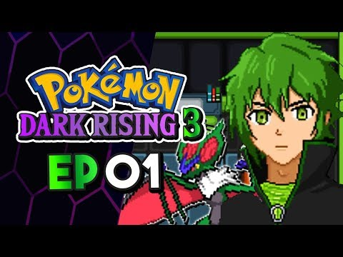 Pokemon Dark Rising 3 Part 1 Order MUST Be Restored! Pokemon Fan Game Gameplay Walkthrough