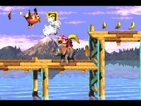 Donkey Kong Country 3 (GBA) - 103% Complete Longplay
