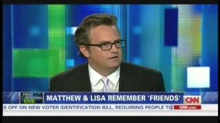 "Matthew Perry & Lisa Kudrow on ""Piers Morgan Live"" (July 26, 2013) [1/2]"