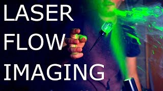 How To See Invisible Air Currents With Lasers - NightHawkInLight