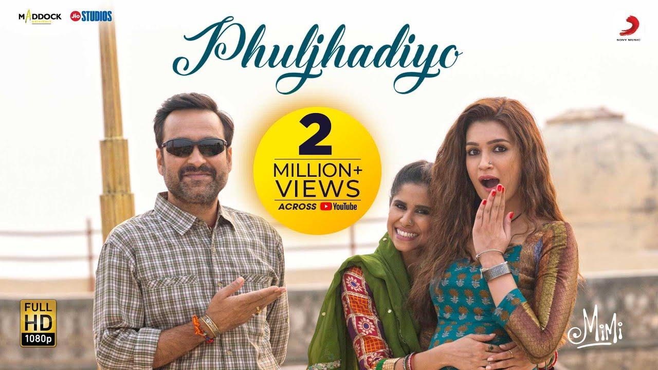 Phuljhadiyo – Official Video | Mimi | Kriti Sanon | @A. R. Rahman | Shilpa Rao | Amitabh B
