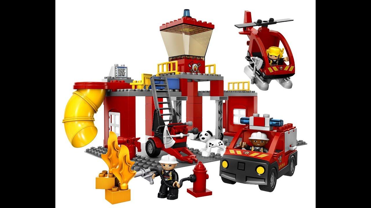 LEGO DUPLO Estacin de Bomberos Juguete Infantiles  YouTube
