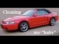 Washing my 2004 Ford Mustang Cobra convertible