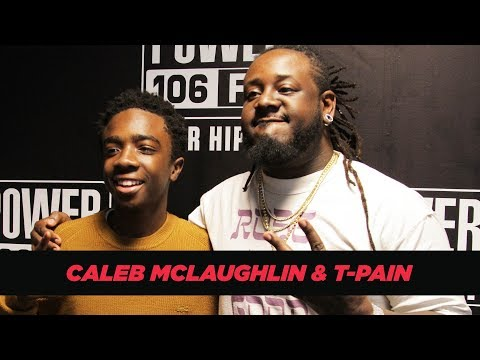 Stranger Things' Caleb McLaughlin Talks With T-Pain About Upside Down Slime + Playing Simba
