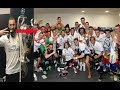 Real Madrid Win Champions league 2017 Dressing Room Celebrations