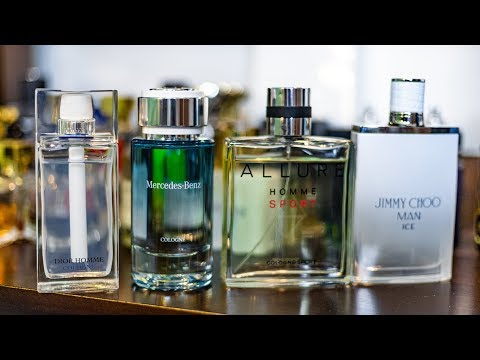DIOR HOMME COLOGNE VS MERCEDES BENZ COLOGNE VS JIMMY CHOO MAN ICE VS CHANEL COLOGNE SPORT
