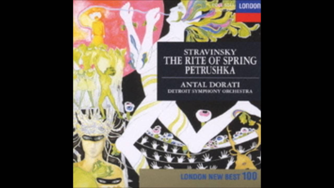 Stravinsky - ballet music 'Rite of Spring,' 'Petrushka' (both 1947 edition)
