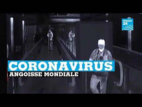 Coronavirus, le monde entier inquiet de la propagation du virus